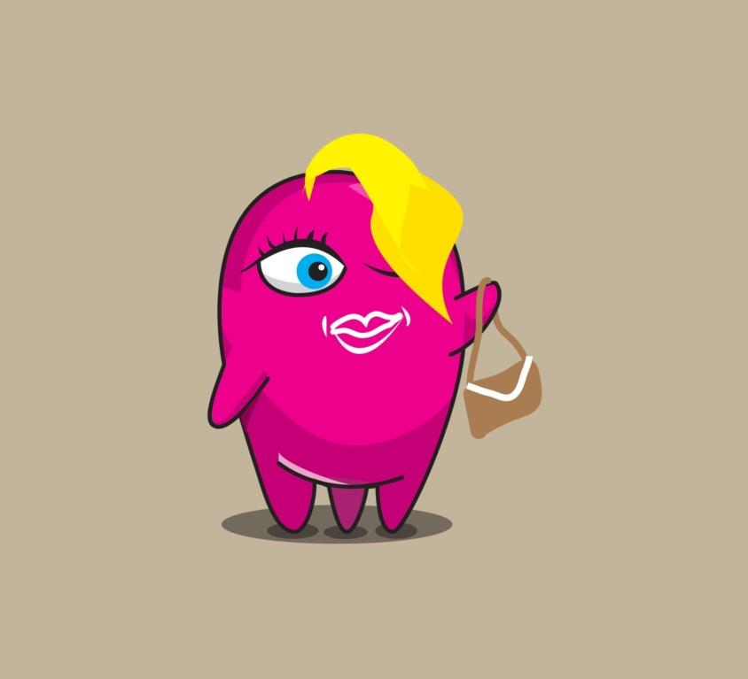 Celli, Bioten's character design