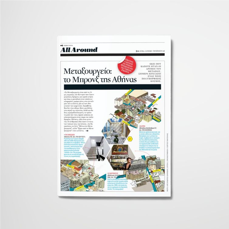 Map illustrations for Nitro Magazine