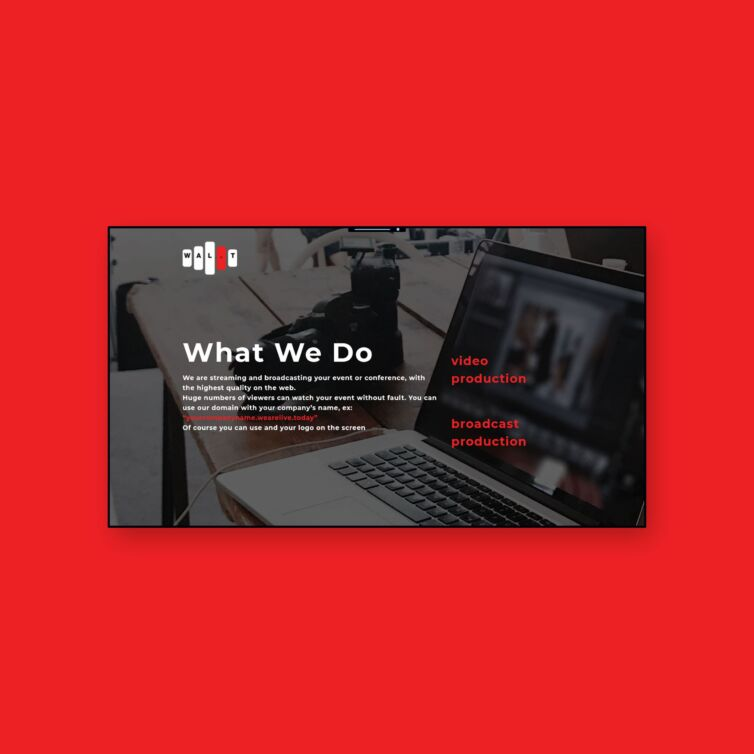 Live Streaming Services | wearelive.today