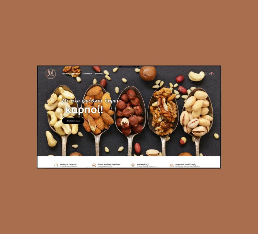 Le Chocolat / Nuts and Chocolates eshop