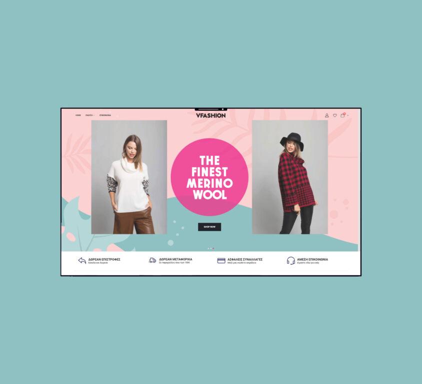 VFASHION online boutique / eshop